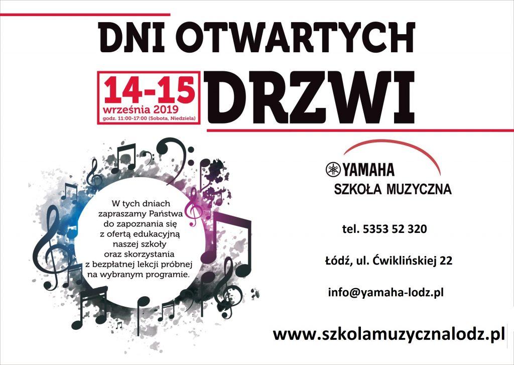 Dni otwartych drzwi szkoła muzyczna Łódź