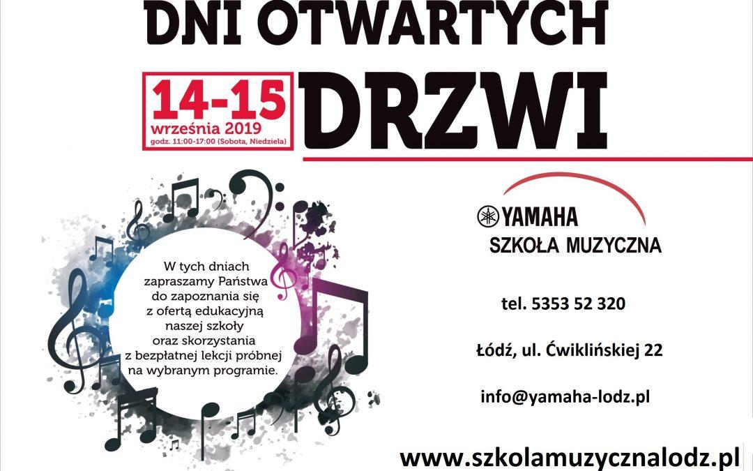 Dni otwarte w szkole muzycznej Yamaha w Łodzi