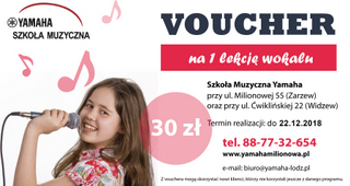 Pomysł na muzyczny prezent: Vouchery (bony) na lekcje muzyki | SzkolaMuzyczna.Lodz.pl